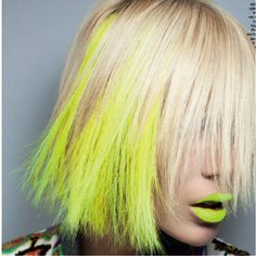 yellow + blonde