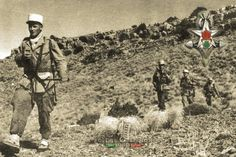 2e CSPL legionnaires during an operation in northern Algeria in 1956