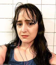 The actress, who famously starred in Matilda and Mrs Doubtfire, admitted after years of identifying as 'straight', she had now been leaning towards the 'bi/queer label lately'. Said Is Dead, Mara Wilson, Mrs Doubtfire, Twitter Image, Old Actress, Celebs, Celebrities, Matilda, Actresses