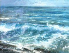 Breaker 1 (P-JA11) Sea and Coastal Print By James Bartholomew http://www.thewhistlefish.com/product/breaker-1-print-by-james-bartholomew-p-ja11