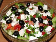Sałatka grecka Thai Chicken Salad, Protein Pack, Fruit Salad, Feta, Salad Recipes, Salads, Lose Weight, Behance, Blog