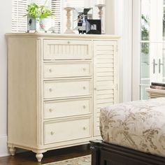 Paula Deen Home Steel Magnolia 4 Drawer Chest