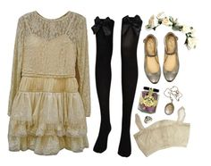 Untitled by skeletondance on Polyvore featuring CO and Vintage Collection