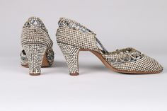 Dance Shoes (image 3) | late 1920s | rhinestones, paste stones | Kerry Taylor Auctions | June 14, 2016