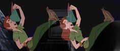 jack frost and peter pan | Peter Pan GenderBend by jackoverlandfrost315