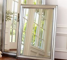 """Silver Beaded Mirror #potterybarn  30"""" wide x 42"""" high x 2"""" thick  $399"""