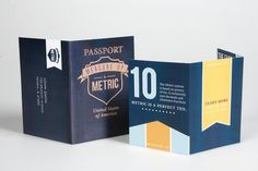 Measure Up to Metric - Direct Mail Piece on Behance