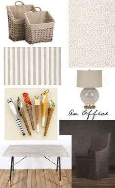 love these cozy tones for my office