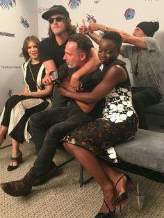 The Walking Dead Rick Grimes, Judith Grimes, The Walking Dead, Walking Dead Season 9, Andrew Lincoln, Team Negan, Dead King, Lauren Cohan, Jeffrey Dean Morgan