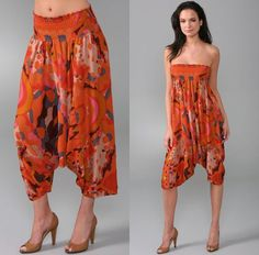 Most awesome harem pants, how to make and different ways to wear.