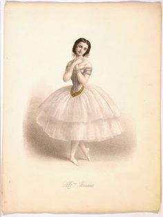Antique Clip Art - Amazing Ballerina - The Graphics Fairy