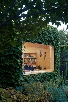 Writer's Shed by Matt Gibson Architecture + Design You can find Writers and more on our website.Writer's Shed by Matt Gibson Architecture + Design Houses Architecture, Architecture Design, Sustainable Architecture, Residential Architecture, Contemporary Architecture, Architecture Blueprints, Natural Architecture, Roman Architecture, Contemporary Houses