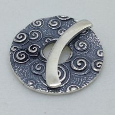 sterling silver toggle - $20.00