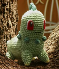 Well after many requests (and finally getting the yarn I needed) Chikorita has arrived. LOL The top picture shows the colors closer to w...