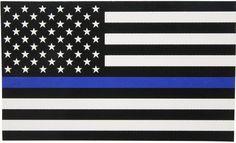 Discount Doug's Thin Blue Line Decal, Thin Blue Line Flag, Thin Blue Lines, Back The Blue Flag, American Flag Blue Line, Passat B6, Flag Stand, Line Sticker, Waterproof Stickers