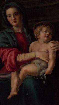 Pier Francesco Foschi. Madonna col Bambino e santi - 1540 circa. Firenze, Chiesa di San Barnaba