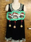 Cutest Cat Dress Ever Ugly Christmas Sweater Party Favorite #uglychristmassweater #crazycatlady #partydress