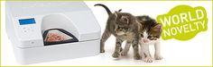 CATSOMAT - Katzenfutterautomat für Nass- & Trockenfutter - Produkt