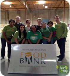 Our Legal Team volunteering at the LA Regional Food Bank!