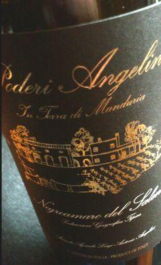 Tasting note of a Negroamaro  http://www.wijngekken.nl/2013/10/29/poderi-angelini-2008-negroamaro-del-salento-igt-apulie-italie/