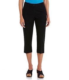 Westbound Petites Stretch Waistband Capri Pants #Dillards