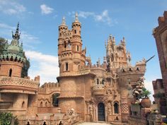 Colomares Castle in Benalmadena. Malaga. Spain