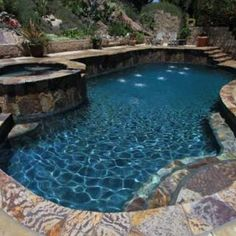 Aggregate Coping Swimming Pool