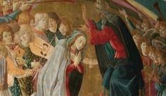 L' incoronazione della Vergine di Sandro Botticelli, Villa La Quiete, Firenze