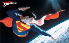 Alex Ross's Superman for the boys room