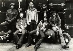 """The Allman Brothers Band is an American rock/blues band once based in Macon, Georgia. The band was formed in Daytona Beach, Florida, in 1969 by brothers Duane Allman (slide guitar and lead guitar) and Gregg Allman (vocals, organ, songwriting), plus Dickey Betts (lead guitar, vocals, songwriting), Berry Oakley (bass guitar), Butch Trucks (drums), and Jai Johanny """"Jaimoe"""" Johanson (drums)."""