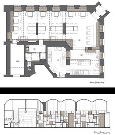 Nejen Bistro, Praga by Mar.s Architects, 2015.