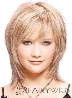 Genuine Short Straight Capless Human Wigs