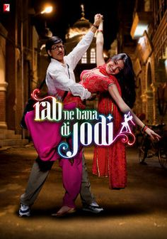 Rab Ne Bana Di Jodi (2008) Shahrukh Khan and Vinay Pathak. Suri, a mild-mannered office worker, sees his ordinary existence transform into an extraordinary love story when he falls for Taani. Gets my vote for best soundtrack! -my favourite movie of all time
