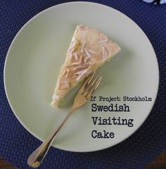 If Project: Stockholm :: Swedish Visiting Cake
