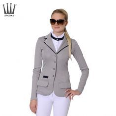 Spooks Lara Grey & Navy Show Jacket, £200. A stylish jacket for those who like to stand out from the crowd.