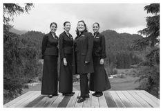 Service Team unter der Leitung von Chef Sommelière und Restaurantleiterin Marie-Helen Krebs.