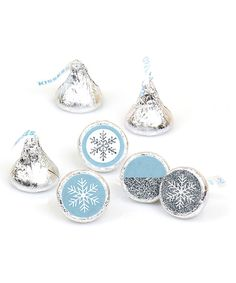 Look what I found on #zulily! Winter Wonderland Candy Stickers - Set of 216 by Big Dot of Happiness #zulilyfinds