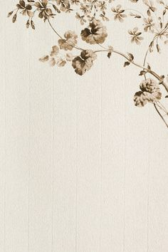 Download premium image of Vintage sepia scarlet flower and variegated geranium leaf on cream texture background design resource by katie about sepia background, background, background design, background image, and background images 2450803