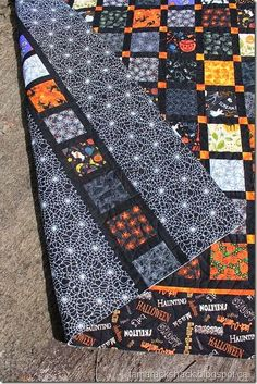 Halloween Quilt : halloween, quilt, Halloween, Quilts, Ideas, Quilts,