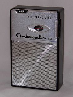 https://flic.kr/p/BodZUT | Vintage Ambassador Transistor Radio, Model TPR 564, AM Band, 6 Transistors, Made In Japan, Circa 1960s