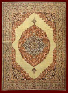 HAJI JALILI TABRIZ CARPET IRAN - 370 X 275 CM - 12.14 X 9.02 FT - COD. 140907669640
