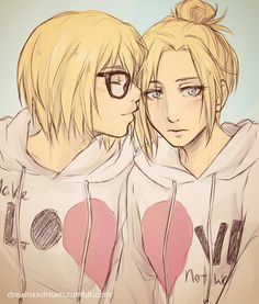 I don't care. I know Annie is like a bad character (evil ^0^) but how can you not ship this?