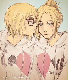 Armin and Annie.