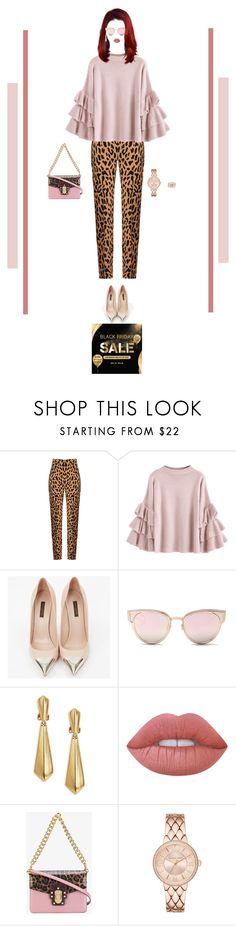 """Pastel Pink and Leopard Print: Black Friday Sale"" by nello-hope on Polyvore featuring Diane Von Furstenberg, Louis Vuitton, LMNT, Oscar de la Renta, Dolce&Gabbana and LC Lauren Conrad"