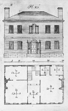 Architectural Drawing Building custom pen and ink architectural drawing of your house or home