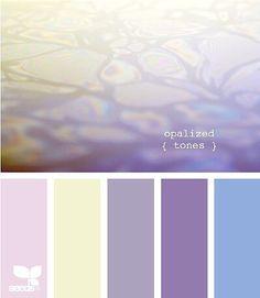 Opalized Tones by Design Seeds Colour Pallette, Color Palate, Colour Schemes, Color Combos, Color Patterns, Design Seeds, Palette Pastel, Best Bathroom Colors, Colour Board