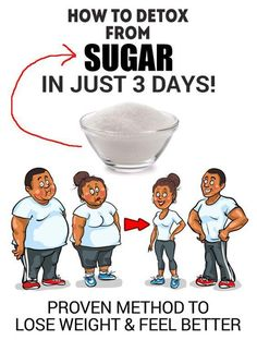 Sugar Detox In Just 3 Days - Lose Weight, Feel Better