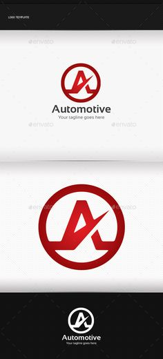 Automotive Logo  #graphicriver