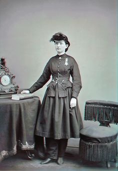 Dr. Mary Edwards Walker, Civil War surgeon, POW and Medal of Honor recipient.