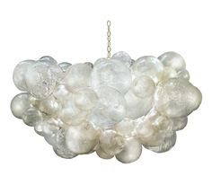 Muriel+Cloud+Chandelier+-+Cast+Resin+Bubbles;+Includes+Canopy+&+3-Foot+Chain+*Six+Bulbs+Not+to+Exceed+60W